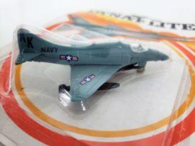 1982 Zee TOYS Dyna-Flites Rolling Wheels AK Navy Die-cast Fighter Jet