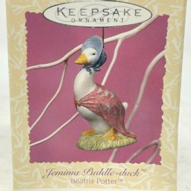 Hallmark Keepsake Easter Ornament Jemima Puddle Duck Beatrix Potter 1997 #2