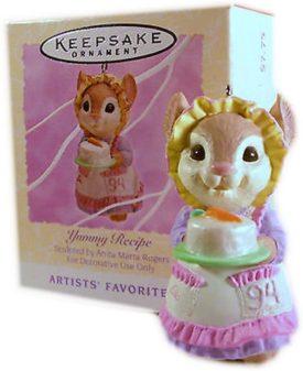 Yummy Recipe 1994 Easter Hallmark Ornament QEO8143