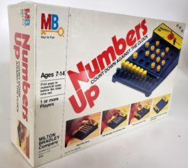 Vintage 1982 Milton Bradley Numbers Up Game, Sealed