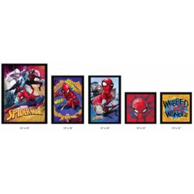 Spider-Man 5 Piece Framed Set
