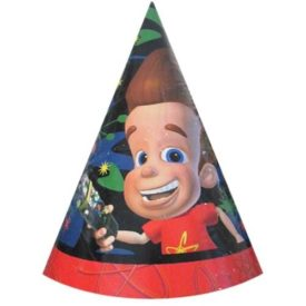 Jimmy Neutron Cone Party Hats 8 Count