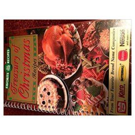 Treasury of Christmas Recipes Spiral-bound (Paperback)