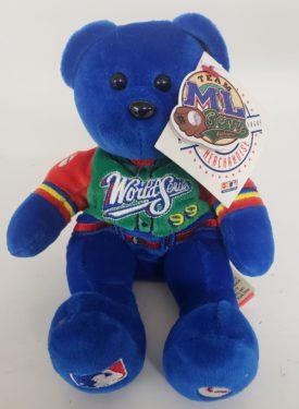 "New York Yankees 1999 World Series Team ML Bears 8"" Beanie Bear With Tags"