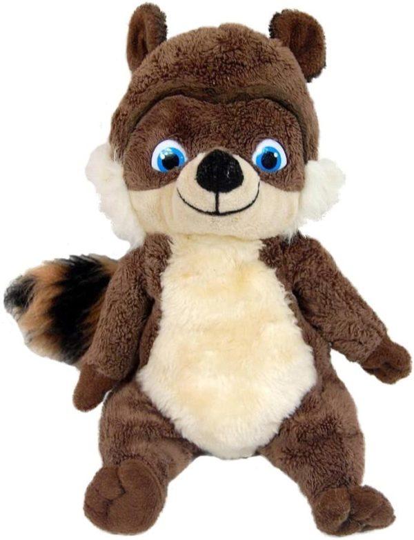 "RJ Raccoon Plush Beanie DreamWorks Over the Hedge Kohls Cares 2006 11"""
