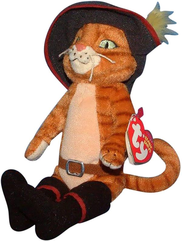 Ty Beanie Baby - Puss In Boots