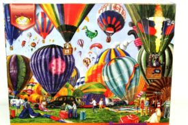 Serendipity Puzzle Company Full of Hot Air 1000 Piece Jigsaw Puzzle