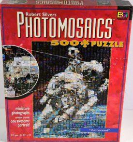 Photomosaics Astronaut 500 Piece Jigsaw Puzzle