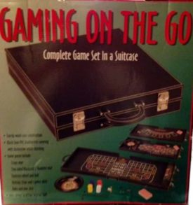 Gaming On The Go - Complete Adult Gaming Set In a Suitcase