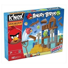 KNEX 72462 Angry Birds Building Set - Grilling and Chilling