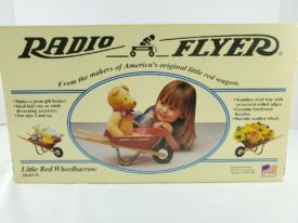 Radio Flyer Little Red Wheelbarrow #4 Vintage 1997