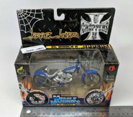 Muscle Machines West Coast Choppers Jesse James El Diablo II Motorcycle 1:18