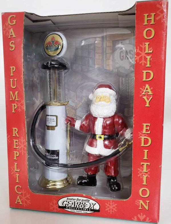 GEARBOX Diecast Wayne Amoco Gas Pump Replica w/Santa Holiday Edition