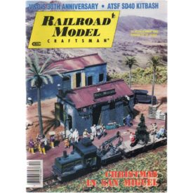 Railroad Model Craftsman December 1992 - Vol 61 No. 7 (Collectible Single Back Issue Magazine)