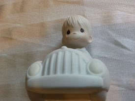"Precious Moments ""I'm Following Jesus"" Boy in Car #PM-862"