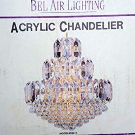 Bel Air Lighting 9 Light Acrylic Chandelier Model 59417