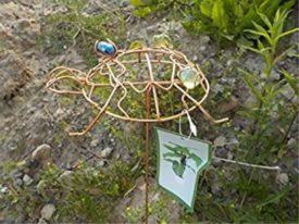 Outdoor Garden Copper Colored Turtle Spinner Yard Art No. 715