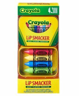 Lip Smacker Crayola Lip Balm In Tin 4 Flavors