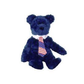 Ty Beanie Babies - Pops the Bear (USA Tie)