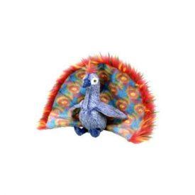Ty Beanie Baby Plush - Flashy The Peacock