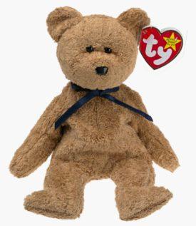 Ty Beanie Babies - Fuzz the Bear