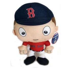 13 Boston Red Sox Plush Big Head Boy Baseball Player Soft Doll Rallymen