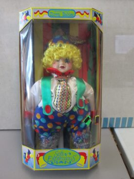 Dan Dee Dandee Genuine Porcelain Clown Babies Soft Expressions