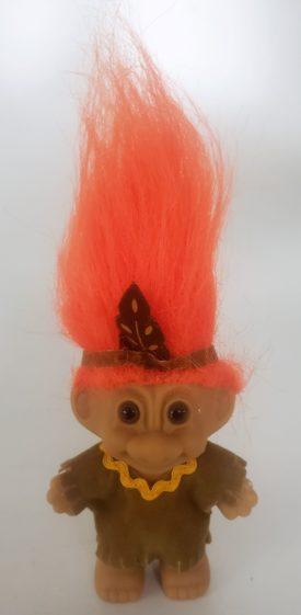 My Lucky Troll Doll Mini - Harvest Time Indian Troll