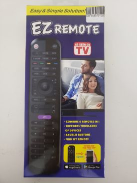 EZ Remote As Seen On TV