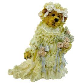 Boyds Bears Bearstone Resin Figurine - Boyds Bears Bailey the Bride