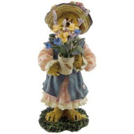Boyds Bears Bearstone Resin Figurine - Momma Bunchalove World's Best Mom #82536