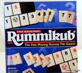The Original Rummikub - Fast Moving Rummy Tile Game #0400D