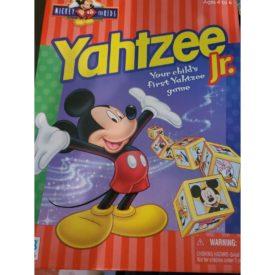 Yahtzee Jr. Disney Mickey Mouse Milton Bradley 1998