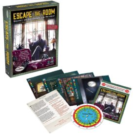 ThinkFun Escape the Room Secret of Dr. Gravely's Retreat - An Escape Room Experience in a Box For Age 13 and Up