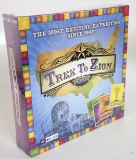 Trek to Zion Pioneer Board Game