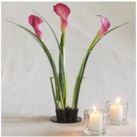 8 Little Botanica Glass Flower Vase w/ Stand