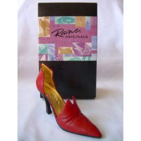 Just the Right Shoe Red Devil Miniature Shoe Figurine