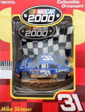 NASCAR 2000 Mike Skinner #31 CAR ORNAMENT NEW Lowe's RACING Christmas
