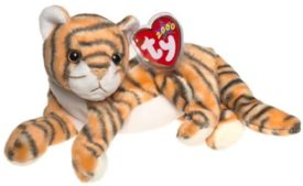 Ty Beanie Baby - India The Tiger 2000 Hologram Tag