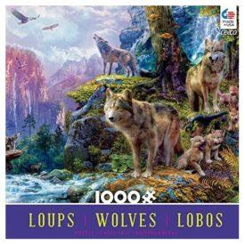 Ceaco National Park Wolves Puzzle - 1000 Piece Puzzle