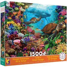 Turtle's Ocean Voyage Jigsaw Puzzle, 1500 Pieces