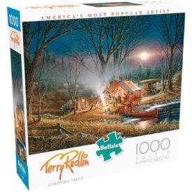 Buffalo Games - Terry Redlin - Campfire Tales - 1000 Piece Jigsaw Puzzle