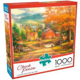 Buffalo Games - Chuck Pinson - Country Roads Take Me Home - 1000 Piece Jigsaw Puzzle