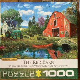 The Red Barn Eurographics Jigsaw Puzzle 1000 Piece by Dominic Davidson