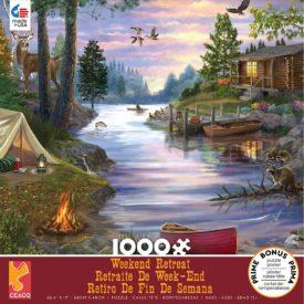Ceaco Weekend Retreat Cabin Lake Puzzle - 1000 Piece