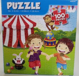Children At Carnival 100 Piece Puzzle Ages 6+