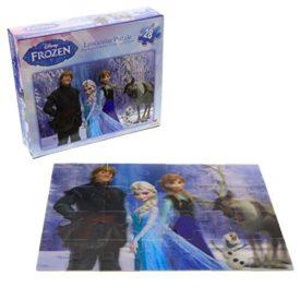 Disney Frozen 28 Piece Lenticular Puzzle - Elsa, Ana, Kristoff, Olaf, Sven