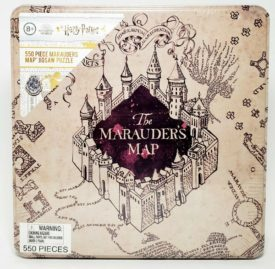Harry Potter Marauders Map Jigsaw Puzzle 550 Piece In Collectible Tin Ages 8+
