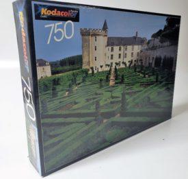 Kodacolor Castles Jigsaw Puzzle 750 Pieces -  Gardens at Villandry, France