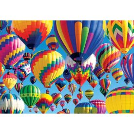 Bursting with Balloons, A 1500 Piece Jigsaw Puzzle by Lafayette Puzzle Factory
